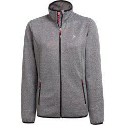 Sweter damski SWD600 - średni szary melanż - Outhorn. Niebieskie swetry klasyczne damskie marki ARTENGO, z elastanu, ze stójką. Za 139,99 zł.