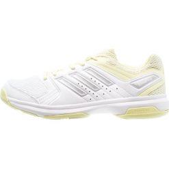 Buty damskie: adidas Performance ESSENCE Obuwie do piłki ręcznej white/silver metallic/ice yellow