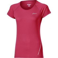 T-shirt Asics Short Sleeve Top 110422-6016. Czerwone t-shirty damskie Asics, m, z materiału. W wyprzedaży za 79,99 zł.