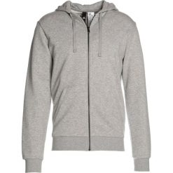 Bluzy męskie: adidas Performance ESS BASE Bluza rozpinana medium grey heather