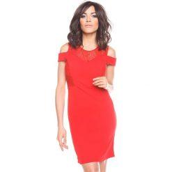 """Sukienki hiszpanki: Sukienka """"Shir"""" w kolorze czerwonym"""