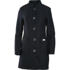 Płaszcze damskie pastelowe: Czarny Płaszcz Real Romance