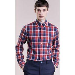 Koszule męskie na spinki: Gant Rugger WINDBLOWN CHECK SLIM Koszula marine