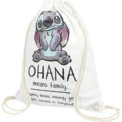 Torebki i plecaki damskie: Lilo & Stitch Ohana Torba treningowa biały