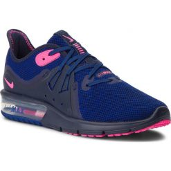 Buty NIKE - Air Max Sequent 3 908993 403 Obsidian/Pink Blast. Niebieskie buty do biegania damskie Nike, z materiału, nike air max. W wyprzedaży za 329,00 zł.
