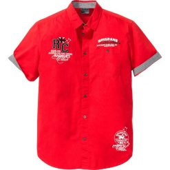 Koszula z krótkim rękawem bonprix truskawkowy. Czerwone koszule męskie marki Cropp, l. Za 74,99 zł.