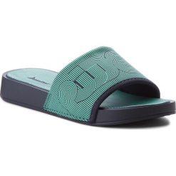 Chodaki damskie: Klapki RIDER - Princess Up Slide Ad 11288 Blue/Green 23563