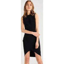 Sukienki hiszpanki: WAL G. BANDAGE BODY CON INSERT DRESS Sukienka etui black