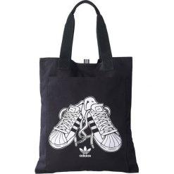 Torby podróżne: Adidas Torba Originals Graphic Shopper czarna BK2148