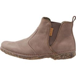 El Naturalista ANGKOR Ankle boot plume. Brązowe botki damskie skórzane marki El Naturalista. Za 609,00 zł.