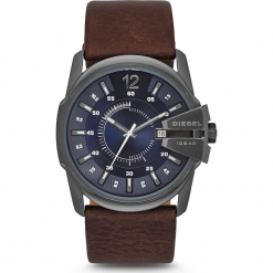 Zegarek DIESEL - Master Chief DZ1618  Dark Brown/Silver. Brązowe zegarki męskie Diesel. Za 679,00 zł.