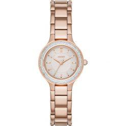 Zegarek DKNY - Chambers NY2393 Rose Gold/Rose Gold. Czerwone zegarki damskie DKNY. W wyprzedaży za 629,00 zł.