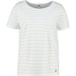 T-shirty damskie: Armor lux MARINIÈRE HERITAGE Tshirt z nadrukiem blanc/eau