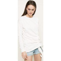 Missguided - Bluza. Szare bluzy damskie marki Missguided, z bawełny. W wyprzedaży za 59,90 zł.