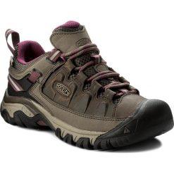 Trekkingi KEEN - Targhee III Wp 1018177 Weiss/Boysenberry. Brązowe buty trekkingowe damskie Keen. Za 469,95 zł.