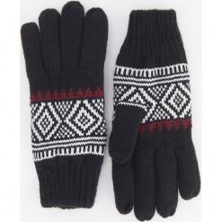 Rękawiczki - Granatowy. Niebieskie rękawiczki męskie Reserved. Za 39,99 zł.