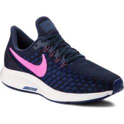 Buty NIKE - Air Zoom Pegasus 35 942855 401 Obsidian/Pink Blast. Niebieskie buty do biegania damskie Nike, z materiału, nike zoom. W wyprzedaży za 349,00 zł.