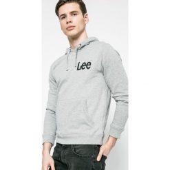 Lee - Bluza Mele. Szare bluzy męskie rozpinane marki Lee, l, z bawełny, z kapturem. W wyprzedaży za 179,90 zł.