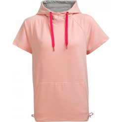 Bluza damska BLD603 - pudrowy koral - Outhorn. Różowe bluzy z kieszeniami damskie Outhorn, na lato, z bawełny. W wyprzedaży za 49,99 zł.
