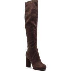 Kozaki GUESS - FLPRS4 ESU11 BROWN. Czarne buty zimowe damskie marki Guess, z materiału. Za 859,00 zł.