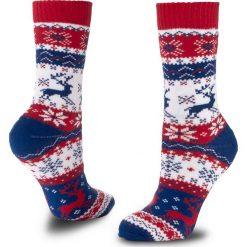 Skarpety Wysokie Unisex MANY MORNINGS - Warm Rudolph Winter Kolorowy. Czerwone skarpetki męskie marki Happy Socks, z bawełny. Za 29,00 zł.