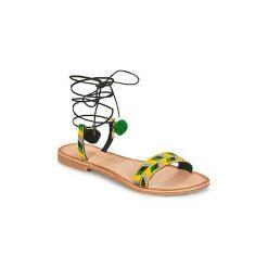 Sandały Lola Espeleta  EDWINA. Czerwone sandały damskie marki Nike. Za 207,20 zł.