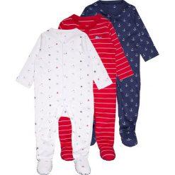 Mothercare BOYS UNDER THE SEA SLEEPSUITS BABY 3 PACK  Piżama darks multicolor. Niebieskie bielizna chłopięca marki mothercare, z bawełny. Za 129,00 zł.