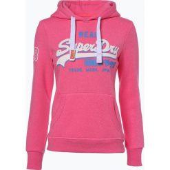 Bluzy damskie: Superdry - Damska bluza nierozpinana, różowy