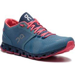 Buty ON - Cloud X 00020 Lake/Coral 99984. Niebieskie buty do biegania damskie On, z materiału. Za 649,00 zł.