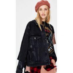 Kurtki i płaszcze damskie: Jeansowa kurtka Ozzy Osbourne
