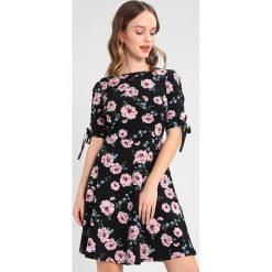 Sukienki hiszpanki: Dorothy Perkins Petite PRINT EYELET DRESS Sukienka z dżerseju black