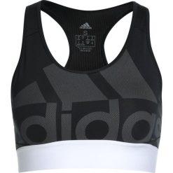 Biustonosze sportowe: adidas Performance LOGOBRA UNPAD Biustonosz sportowy black