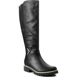 Oficerki JENNY FAIRY - WSHD288-5 Czarny. Czarne buty zimowe damskie Jenny Fairy, ze skóry ekologicznej. W wyprzedaży za 104,99 zł.