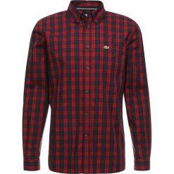 Lacoste Koszula passion/meridien. Szare koszule męskie marki Lacoste, l, w paski, z bawełny, z klasycznym kołnierzykiem, z długim rękawem. Za 419,00 zł.
