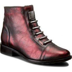 Botki EKSBUT - 65-3828-F95-1G Bordo/Czarny Lic. Czerwone buty zimowe damskie Eksbut, ze skóry. W wyprzedaży za 269,00 zł.
