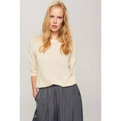Kardigany damskie: Sweter – Złoty