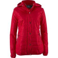 Kurtka pikowana, ocieplana bonprix czerwony. Czerwone kurtki damskie pikowane marki bonprix. Za 89,99 zł.