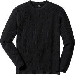Swetry klasyczne męskie: Sweter Regular Fit bonprix czarny