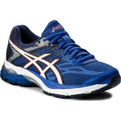 Buty ASICS - Gel-Flux 4 T764N  Blue Purple/White/Indigo Blue 4801. Niebieskie buty do biegania damskie marki Asics, z gumy. W wyprzedaży za 269,00 zł.