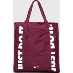Nike - Torebka. Czerwone torebki klasyczne damskie Nike, z materiału, duże. Za 139,90 zł.