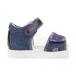 Geox Sandały Dziewczęce Alul 22 Niebieski. Niebieskie sandały dziewczęce Geox. W wyprzedaży za 149,00 zł.