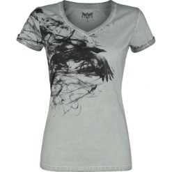 Black Premium by EMP Shades Of Truth Koszulka damska szary. Czarne bluzki z odkrytymi ramionami marki Black Premium by EMP, xl, z poliesteru. Za 99,90 zł.