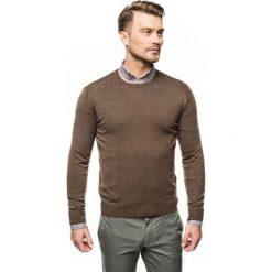 Sweter nagel półgolf brąz. Brązowe swetry klasyczne męskie Recman, m, z golfem. Za 169,00 zł.
