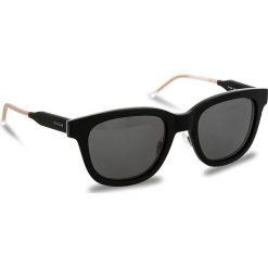 Okulary przeciwsłoneczne TOMMY HILFIGER - 1352/S Bkgryhvn Gd K0C. Czarne okulary przeciwsłoneczne damskie lenonki TOMMY HILFIGER. W wyprzedaży za 479,00 zł.