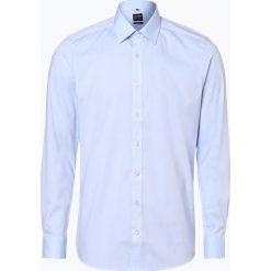 Olymp Level Five - Koszula męska łatwa w prasowaniu, niebieski. Niebieskie koszule męskie non-iron marki OLYMP Level Five, m, paisley, ze stójką. Za 229,95 zł.