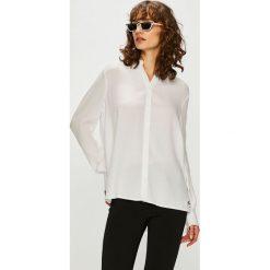 Tommy Jeans - Koszula. Szare koszule jeansowe damskie marki Tommy Jeans, l, casualowe, z długim rękawem. Za 399,90 zł.