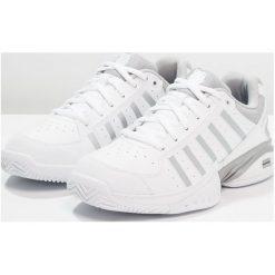 KSWISS RECEIVER IV Obuwie multicourt white/highrise. Białe buty sportowe damskie marki K-SWISS. Za 419,00 zł.