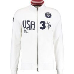 U.S. Polo Assn. BOSTON TEAM  Bluza rozpinana white. Szare bluzy męskie rozpinane marki Fila, m, z długim rękawem, długie. W wyprzedaży za 431,20 zł.
