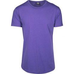 Urban Classics Shaped Long Tee T-Shirt fioletowy. Niebieskie t-shirty męskie marki Urban Classics, l, z okrągłym kołnierzem. Za 32,90 zł.