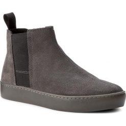 Sztyblety VAGABOND - Zoe 4326-440-18 Dk Grey. Szare buty zimowe damskie marki Vagabond, z materiału. W wyprzedaży za 259,00 zł.